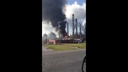 Explosion at Louisiana chemical plant