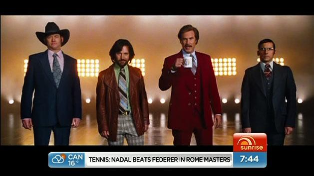 Anchorman 2 trailer released