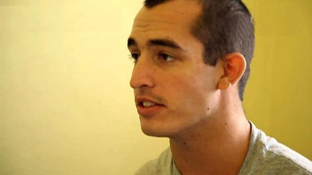 Jailed Marine: Inmates like to mess with me, scare me