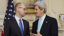 Kerry Hold Talks With Ukrainian PM
