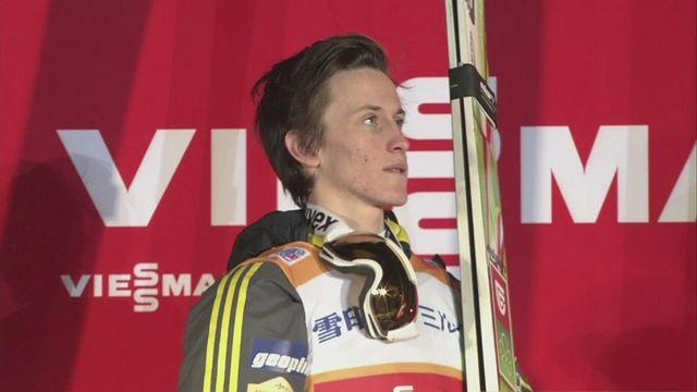 Sapporo Ski Jumping World Cup: Peter Prevc tops leaderboard after victory
