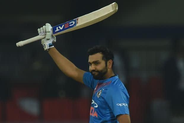 Rohit smashed 108 runs in boundaries against Sri Lanka