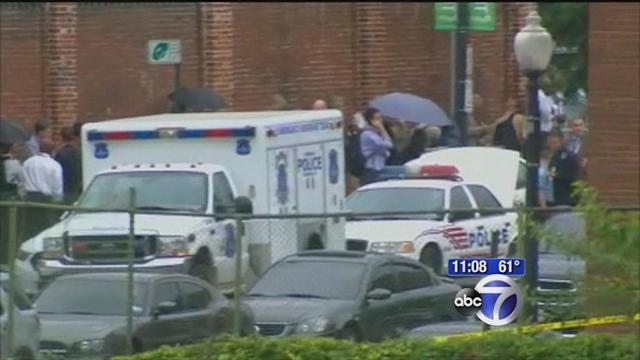 Witnesses recount horror in DC Navy yard shooting