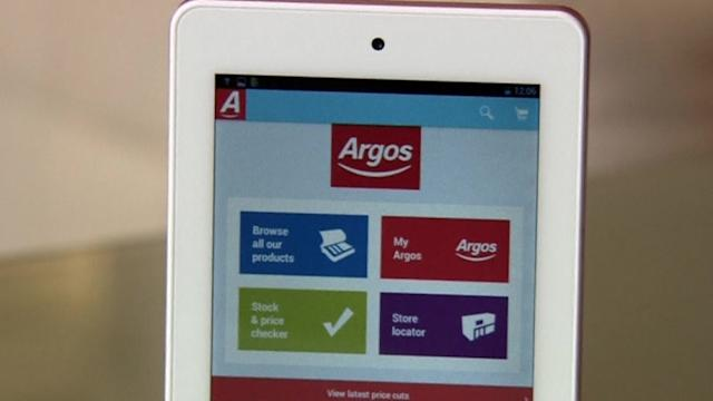 Argos launches own-brand budget tablet