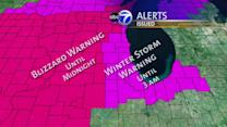 Winter Storm Warning remains in effect: Chicago area gets first snow of the season