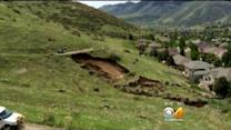 Mudslide Reaches Backyards In Golden, Homeowners Concerned