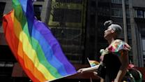 Raw: Thousands March in NY Gay Pride Parade