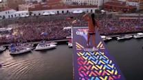 International divers leap into Cliff Diving World Series