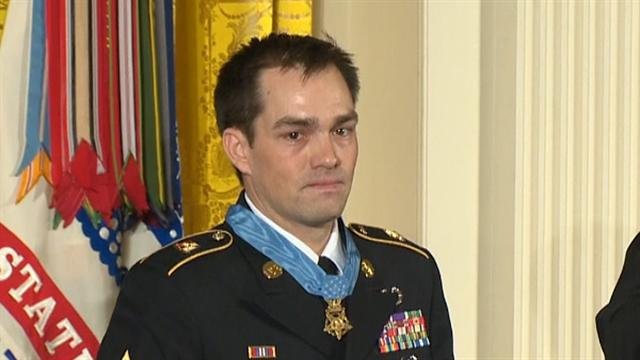 Medal of Honor awarded to Staff Sgt. Romesha
