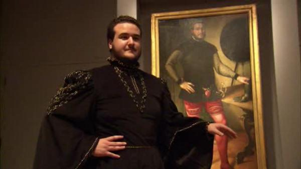 Student finds mirror image in 16th Century painting