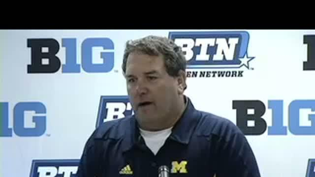Michigan Postgame: 10/15/11