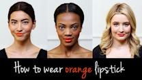 Orange Is the New Red: Master This Season's Hottest Lip Color