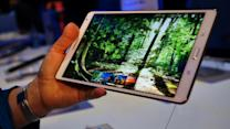 Samsung's new flagship tablet, the Galaxy Tab S