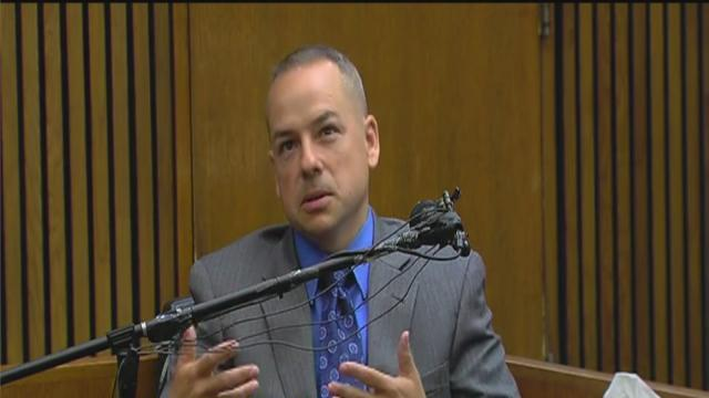 Officer Weekley takes the stand