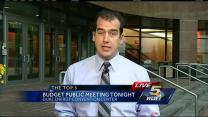 Public meeting on city budget tonight
