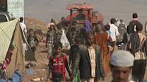 Raw: Refugees From Iraq Reach Syria