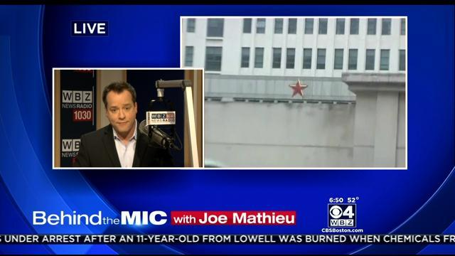 Behind The Mic With Joe Mathieu: China Spying On U.S. Businesses?