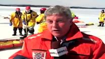 Tonight at Six: Ice Rescue Training