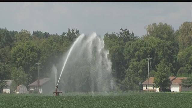 Ind. residents suspect irrigation drying up wells
