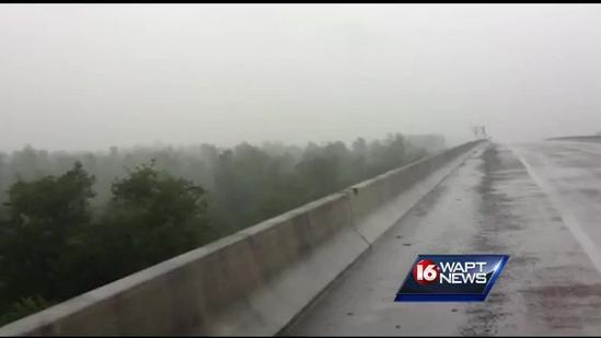 Reporter Scott Simmons tracks storm from Yazoo City