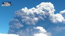 Italy's Mount Etna spews ash