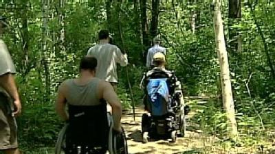 Crotched Mountain Trails Accessible To Wheelchairs