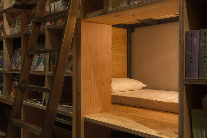 池袋書香入夢BOOK AND BED TOKYO床位