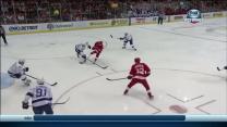 Henrik Zetterberg steals and scores