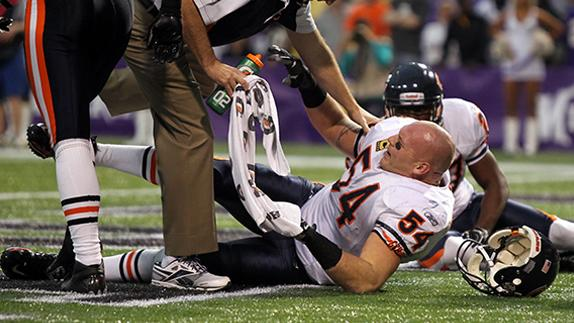 Brian Urlacher: I'm proud of the way I came back