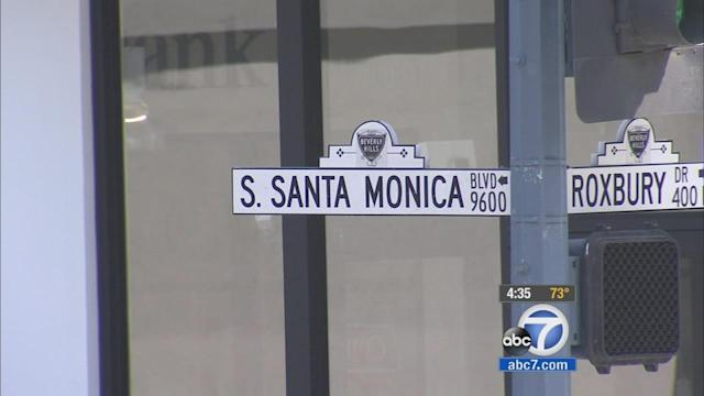 'Little Santa Monica' Boulevard in Beverly Hills may see name change
