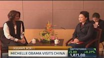China welcomes Michelle Obama