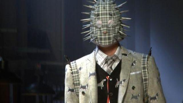 Style.com Fashion Shows - Thom Browne Fall 2012 Menswear