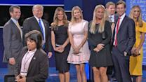 Friends and Family in Attendance at the Presidential Debate