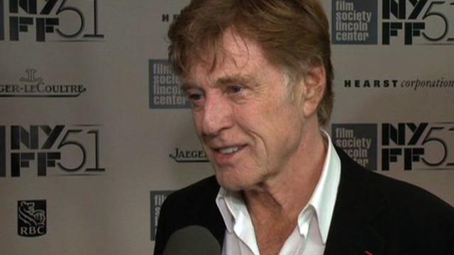 Robert Redford talks silent role in