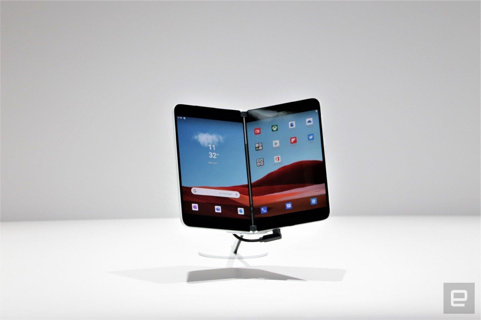 微軟發布了 Surface Duo 預覽版軟體開發工具包