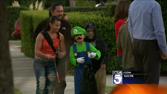 Trick-or-Treaters Face Threat From Traffic, Not Candy