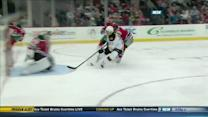 Soderberg sends long dish to Kelly to score