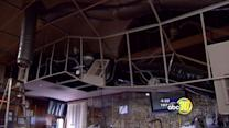 Part of Madera Elks Lodge ceiling collapses