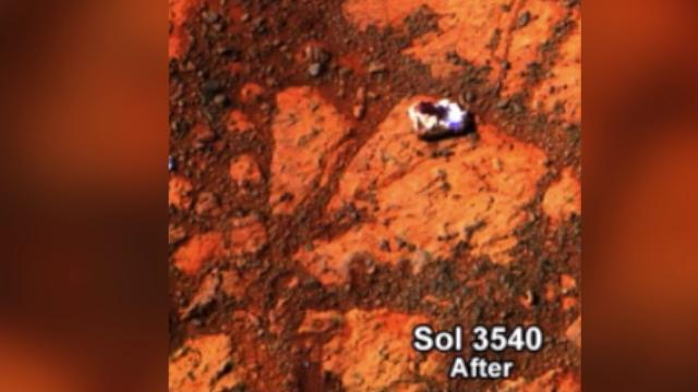 Scientists Make Sweet Discovery of Jelly Doughnut on Mars Surface
