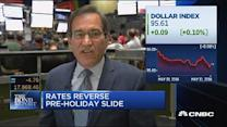 Rates reverse pre-holiday slide