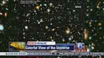 VIDEO: Nasa releases colorful view of the universe
