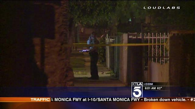 Wife Shot, Killed by 2 Men in South Los Angeles