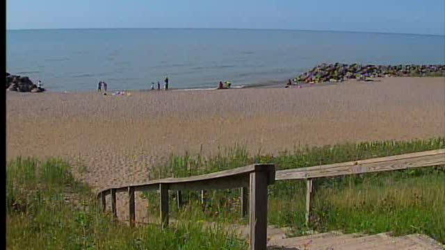 Lake Erie beaches water quality