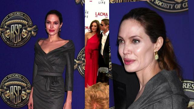 Angelina Jolie Returns to the Spotlight, Skips Big Award Ceremonies