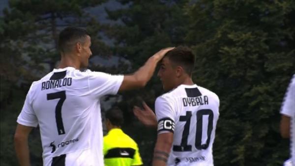 Cristiano Ronaldo marca en su debut con la Juventus 0d51ab5a97448
