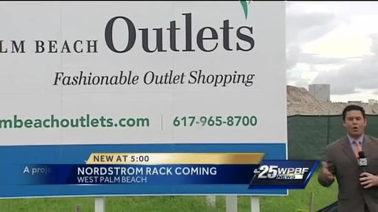 Nordstrom Rack coming to Palm Beach Outlets