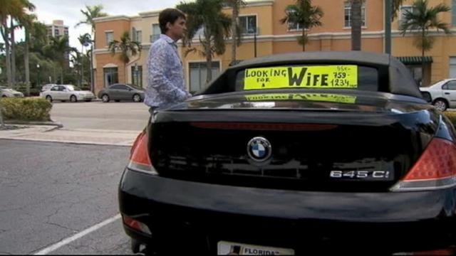 Single Man Drives BMW With a License to Love, Find Wife