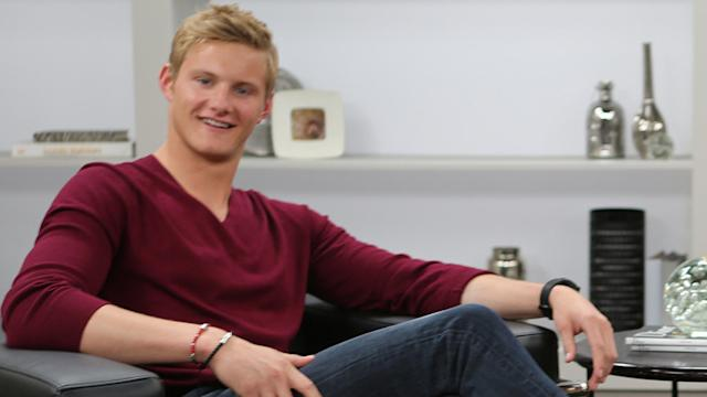 Alexander Ludwig on Vikings'