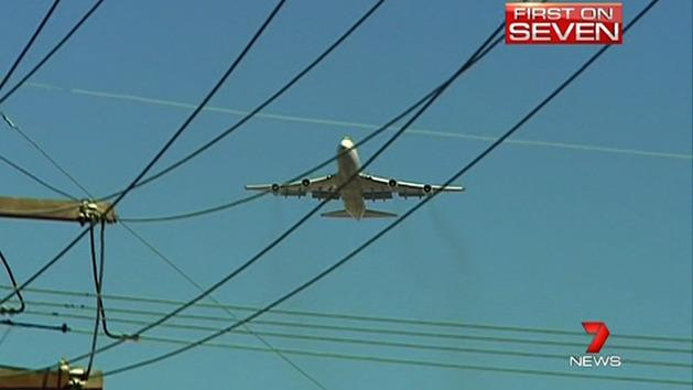 Sydney aircraft noise increasing