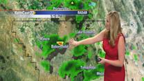 Monday: windy and clearing today, warmer this week